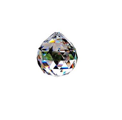 Διαφανής Κρύσταλλο Κ9 σε σχήμα μπάλας Φ 40mm C-BALL